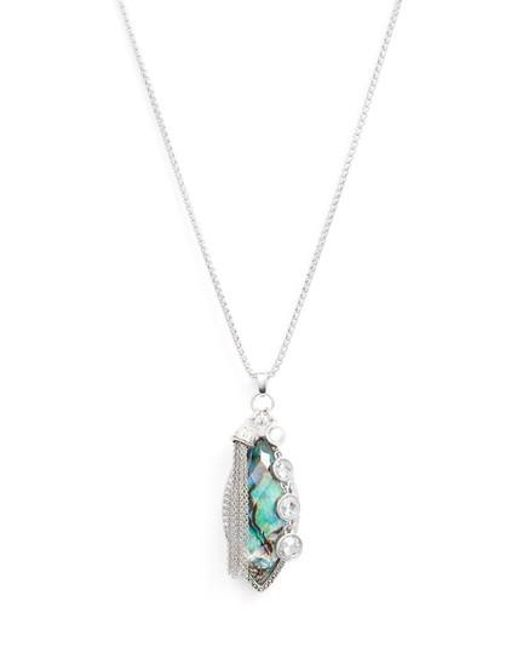 Judith Jack | Metallic Tropical Touches Pendant Necklace | Lyst