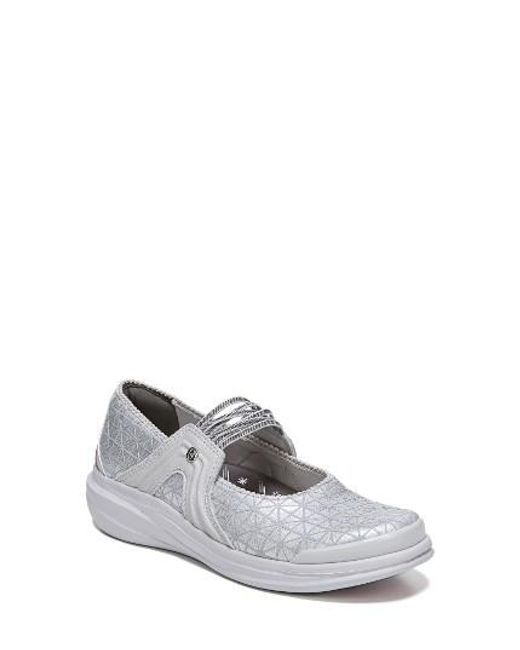 Bzees   Gray Candy Mary Jane Sneaker   Lyst