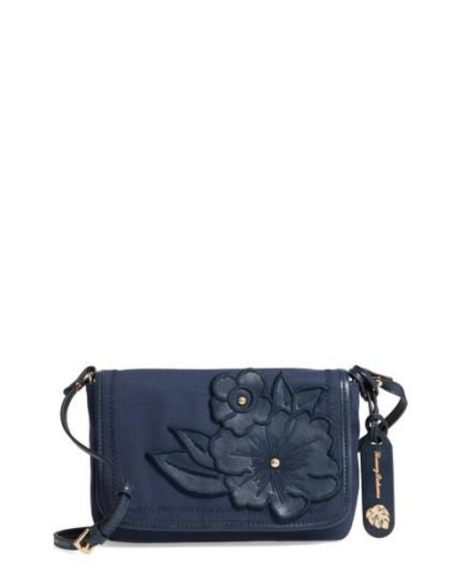 Tommy Bahama | Blue Casbah Convertible Canvas Crossbody Bag | Lyst