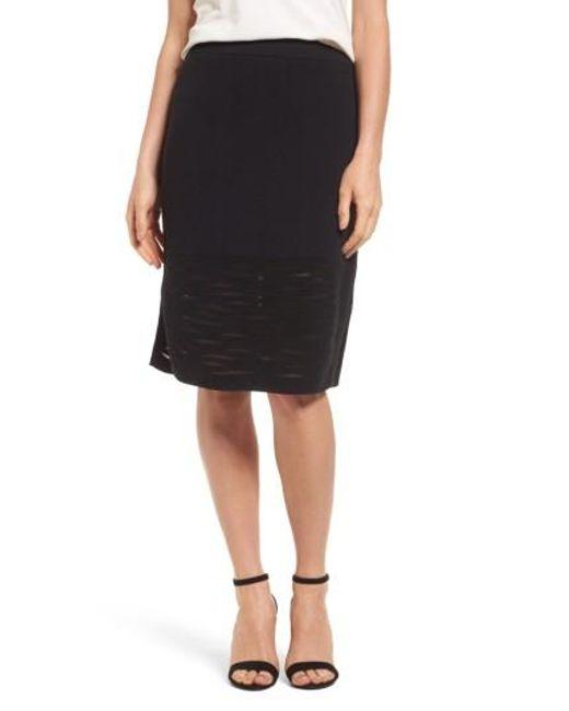 NIC+ZOE   Black Aurora Skirt   Lyst