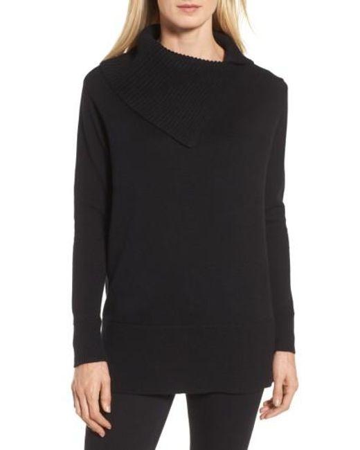 Chaus | Black Cowl Neck Sweater | Lyst