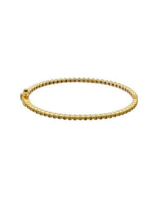 Freida Rothman   Metallic Skinny Hinge Bracelet   Lyst