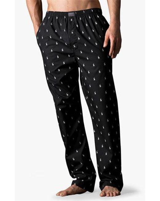 Polo Ralph Lauren | Blue Print Lounge Pants for Men | Lyst