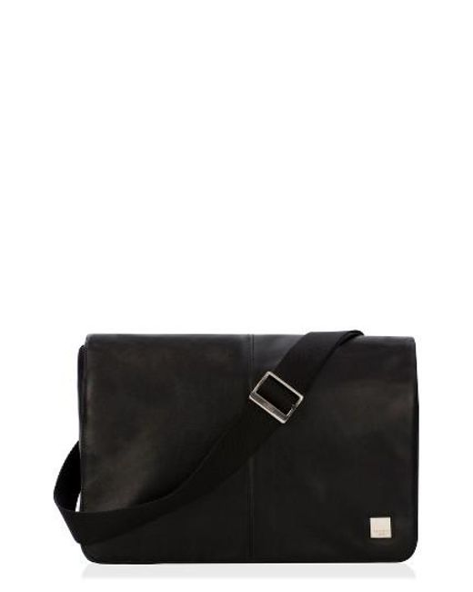 Knomo | Black 'kinsale' Water Resistant Messenger Bag for Men | Lyst