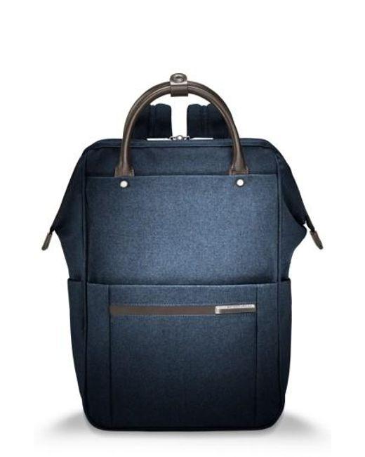 Briggs & Riley | Blue Kinzie Street Backpack | Lyst