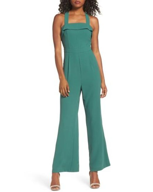 Adelyn Rae | Green Anne Jumpsuit | Lyst