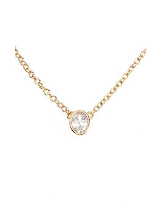 Melinda Maria | Metallic Single Thorn Pendant Necklace | Lyst