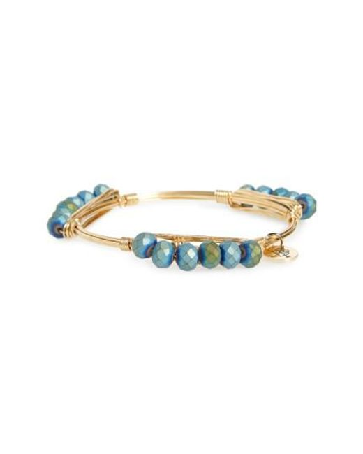 Bourbon and Boweties | Multicolor Beaded Bracelet | Lyst