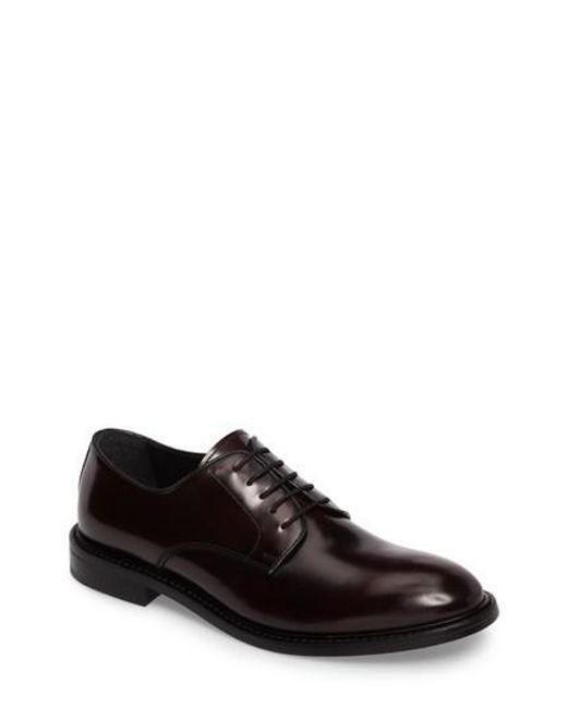 Kenneth Cole   Black Plain Toe Derby for Men   Lyst