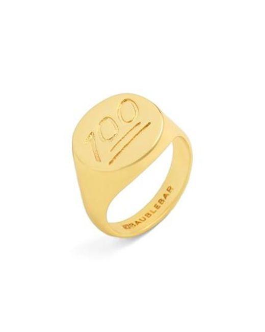 BaubleBar | Metallic 100 Ring | Lyst