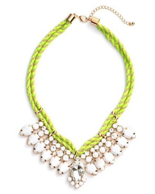 Adia Kibur | White Teardrop Rope Necklace | Lyst