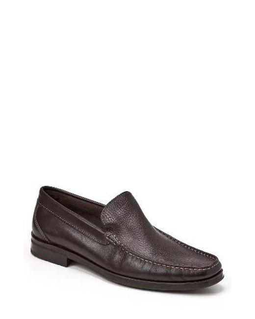 Sandro Moscoloni | Brown Euardo Moc Toe Loafer for Men | Lyst
