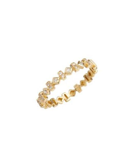 Bony Levy   Metallic Liora Diamond Stackable Ring (nordstrom Exclusive)   Lyst