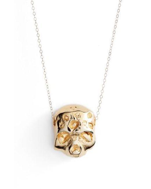 BRITT BOLTON   Metallic Zombie Pendant Necklace   Lyst