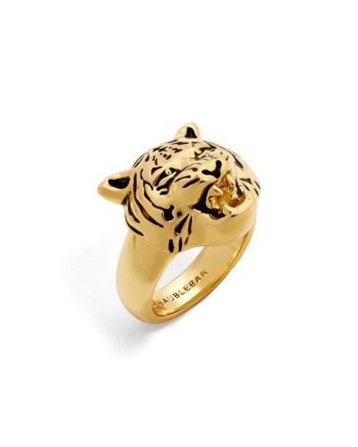 BaubleBar   Metallic Jaguar Ring   Lyst