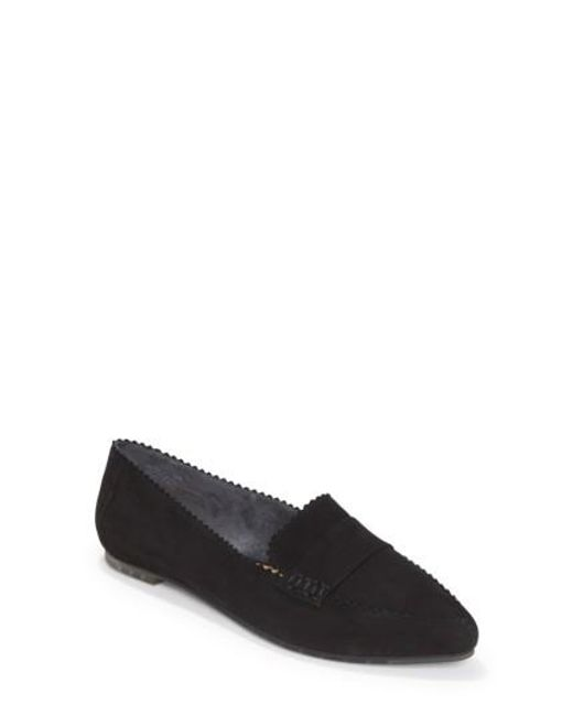 Me Too | Black Avalon Penny Loafer | Lyst