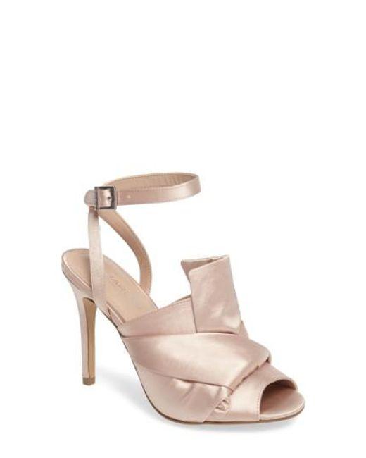 Charles by Charles David | Natural Rachel Ankle Strap Sandal | Lyst