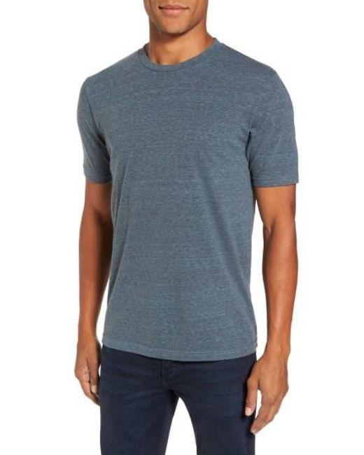 Goodlife | Blue Crewneck Heathered T-shirt for Men | Lyst