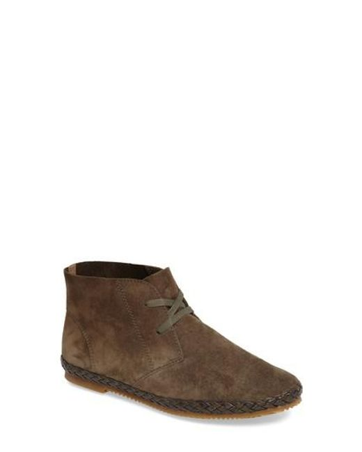 Aetrex | Brown Addison Bootie | Lyst