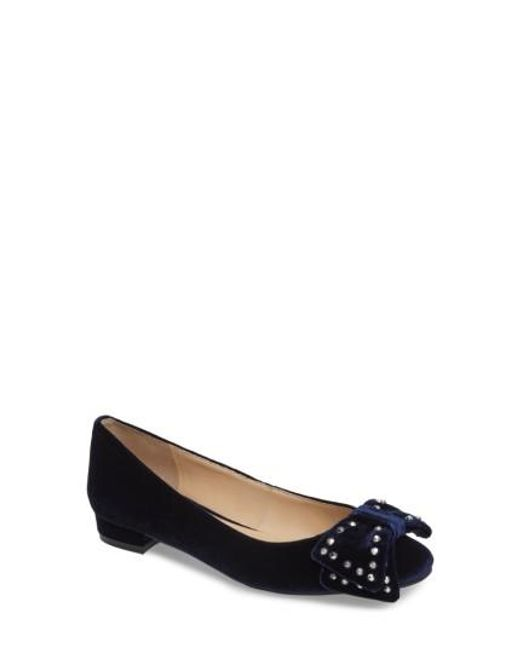 Vince Camuto | Blue Annaley Flat | Lyst