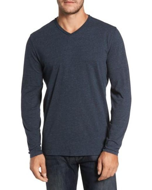 Robert Barakett | Blue Flynn V-neck T-shirt for Men | Lyst