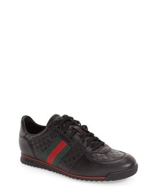 Gucci | Black Low-top Sneakers for Men | Lyst