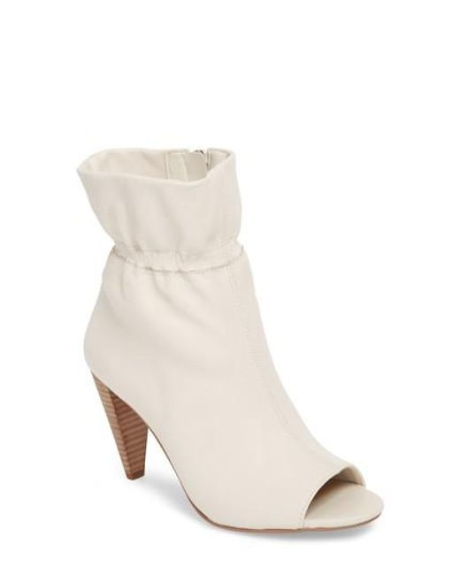 Vince Camuto Addiena Paperbag Top Suede Booties cTag2Nw0f