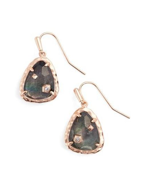 Kendra Scott | Metallic Asher Drop Earrings | Lyst