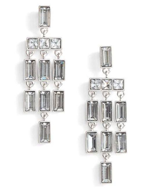 Vince Camuto | Metallic Chandelier Earrings | Lyst