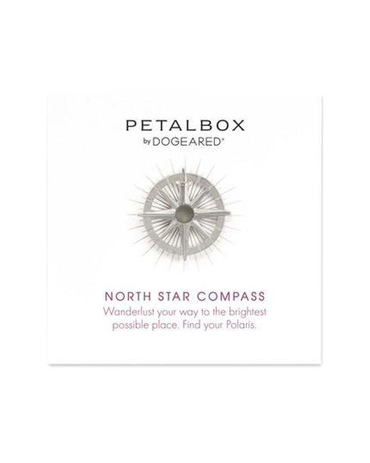 Dogeared   Metallic Petalbox North Star Compass Pendant Necklace (nordstrom Exclusive)   Lyst