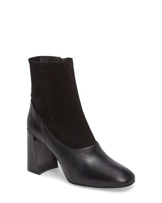 TOPSHOP | Black Holi Sock Bootie | Lyst