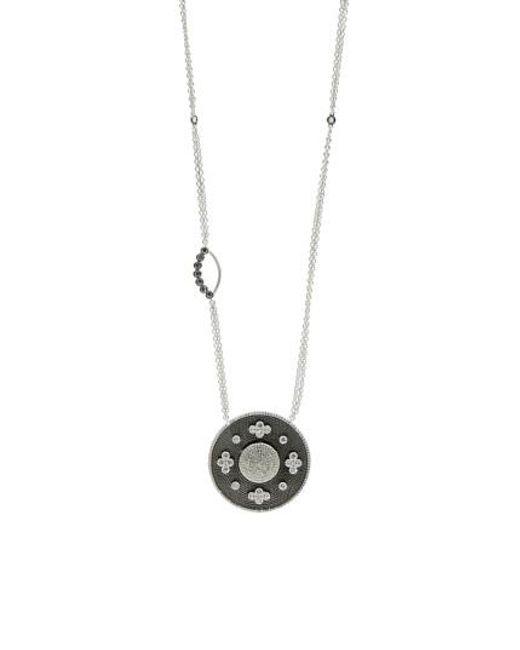 Freida Rothman   Metallic Industrial Finish Pendant Necklace   Lyst