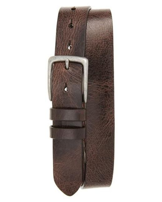 Torino Leather Company | Brown Antiqued Polished Harness Leather Belt for Men | Lyst