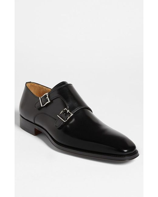 Saks Fifth Avenue | Brown 'miro' Double Monk Strap Shoe for Men | Lyst