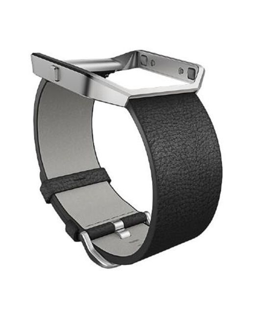 Fitbit | Black Blaze Leather Smart Watch Band for Men | Lyst