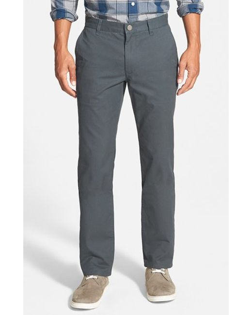 Bonobos | Blue Straight Fit Washed Chinos for Men | Lyst