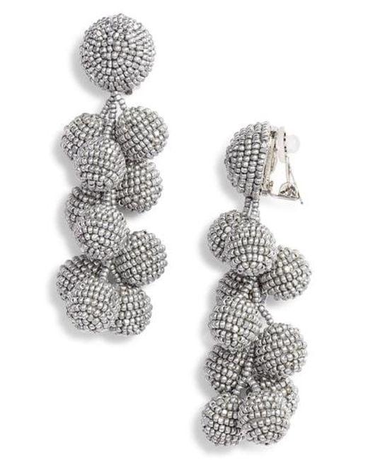 Sachin & Babi - Metallic Noir Coconuts Earrings - Lyst