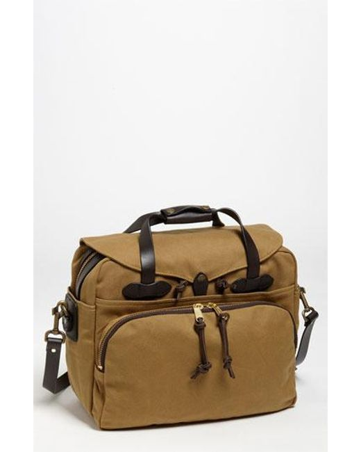 Filson | Brown Padded Laptop Bag for Men | Lyst