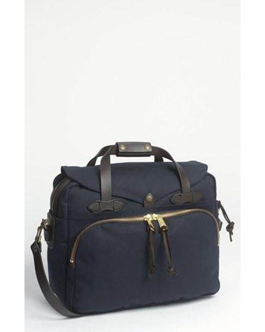 Filson | Blue Padded Laptop Bag for Men | Lyst
