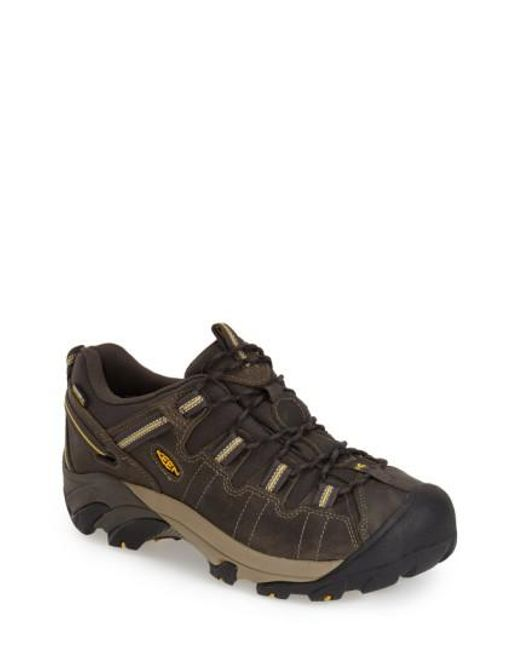 Keen   Brown 'targhee Ii' Waterproof Hiking Shoe for Men   Lyst