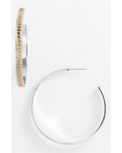 Anna Beck | Metallic 'bali' Large Hoop Earrings | Lyst