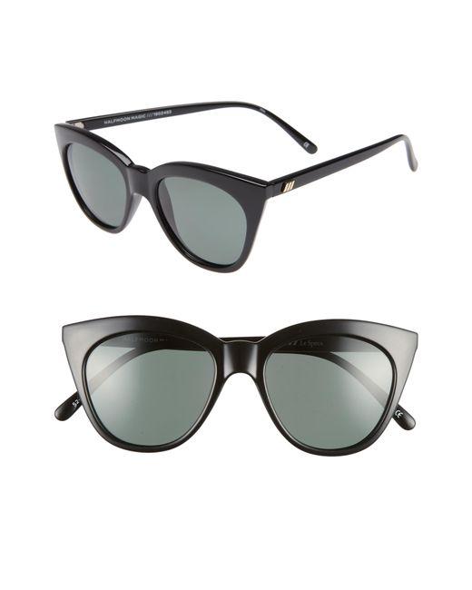 Le Specs - Multicolor Halfmoon Magic 52mm Polarized Sunglasses - - Lyst