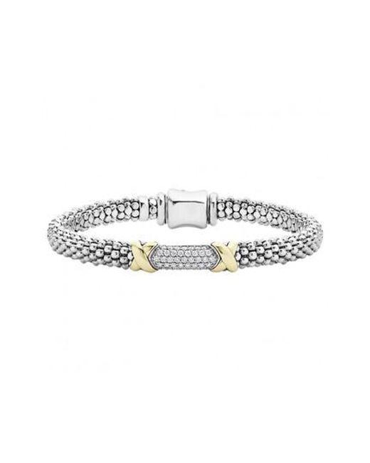 Lagos - Metallic 'diamond Lux' Diamond Rope Bracelet - Lyst