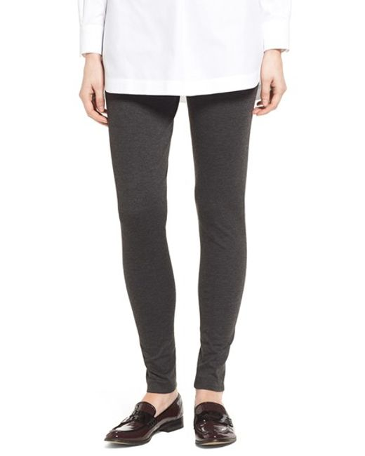 Two By Vince Camuto | Gray Seamed Back Leggings | Lyst