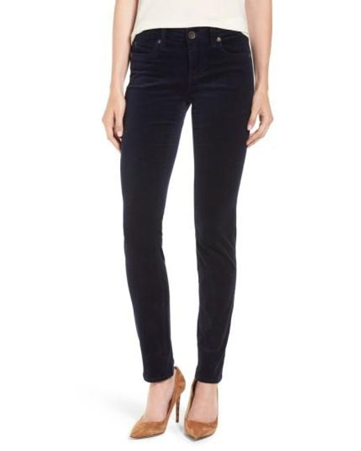 Kut From The Kloth | Blue Diana Stretch Corduroy Skinny Pants | Lyst