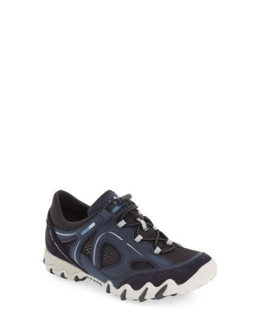 Allrounder By Mephisto - Blue 'natal' Sneaker - Lyst