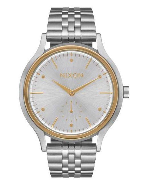 Nixon | Metallic Sala Bracelet Watch | Lyst