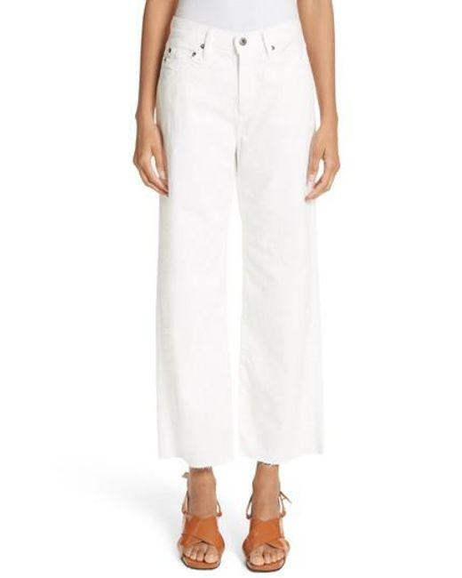 W009 Lamere High-rise Slim-leg Jeans - White Simon Miller gmvPRV4
