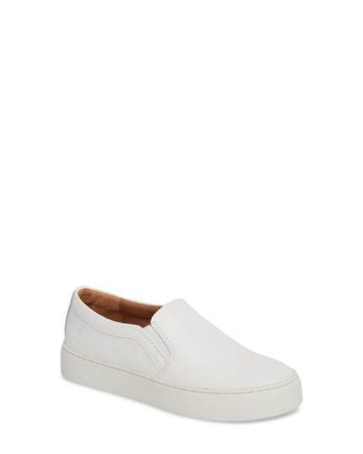 Frye - White Lena Slip-on Sneaker - Lyst