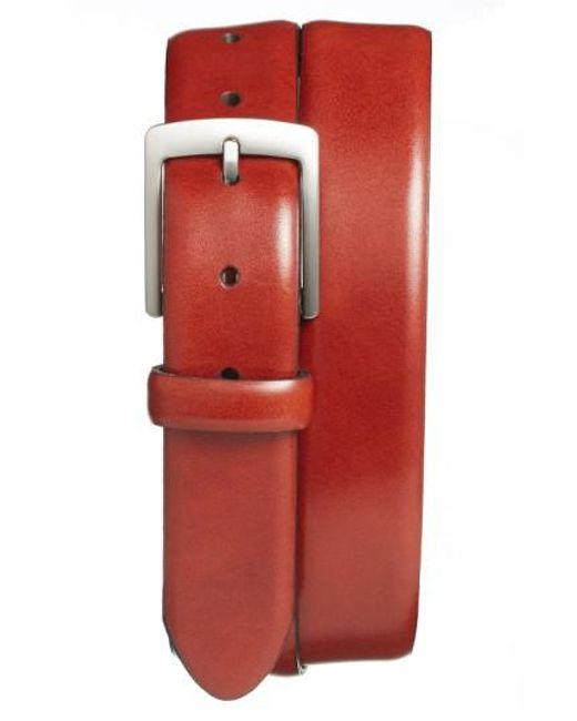 Bosca | Brown Leather Dress Belt for Men | Lyst